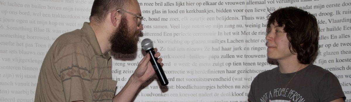 Jelmer van Lenteren wint DichtSlamRap